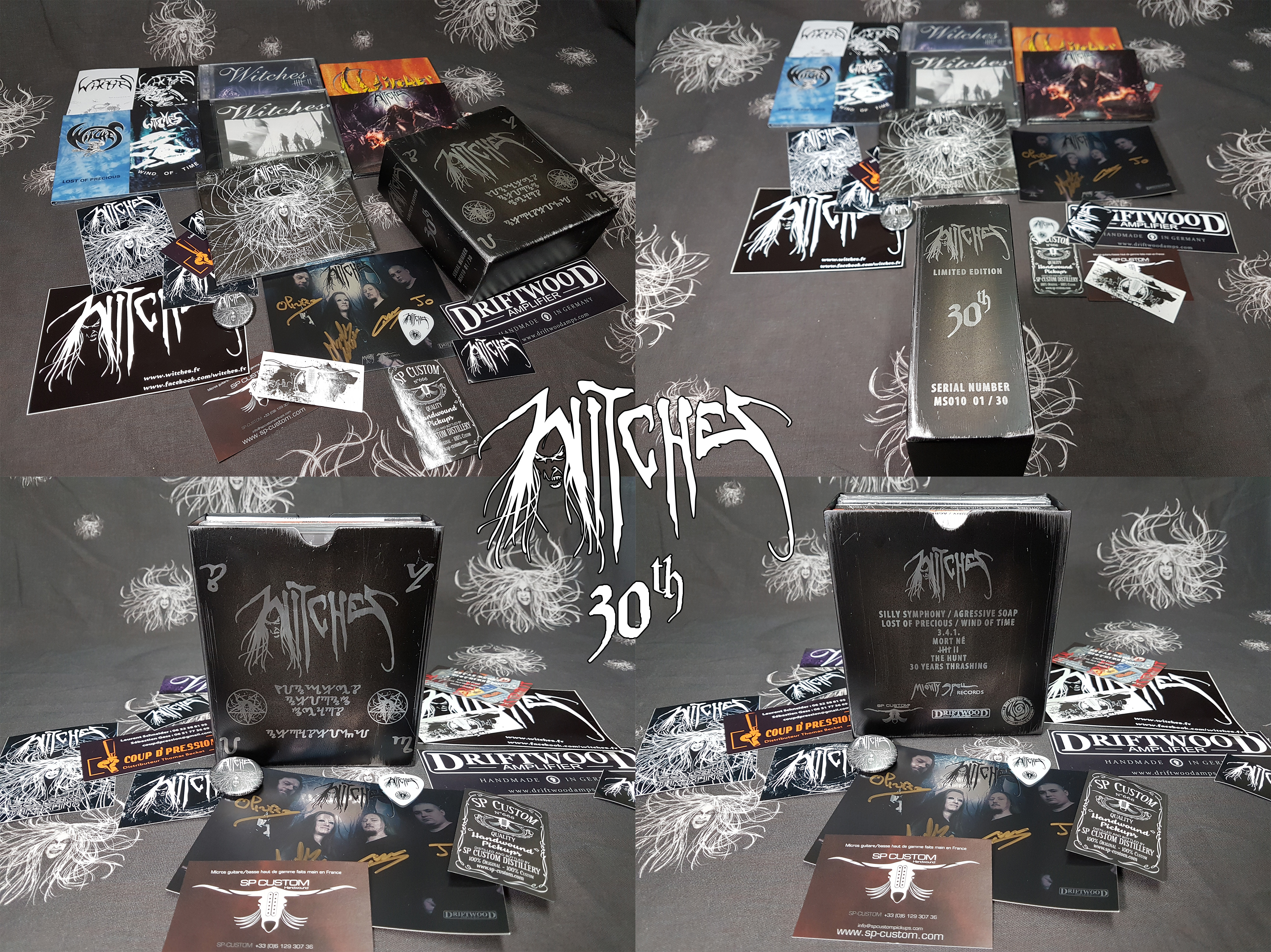 Witches 30th Anniversary Thrash Metal Box