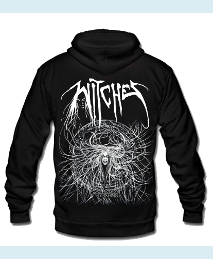 Witches zipped Hoodies 30 Years Thrashing