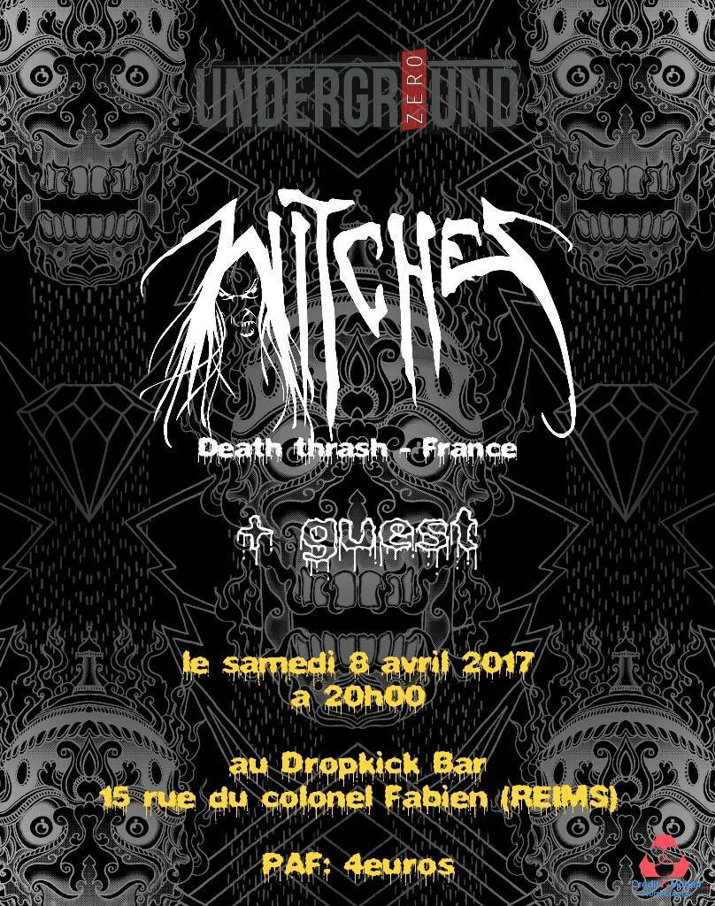 Witches flyer Witches+guests @  Dropkick Reims (51)